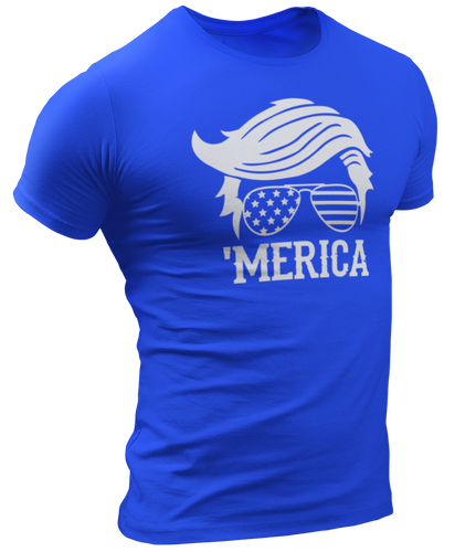 'Merica Trump Tee - Crusader Outlet