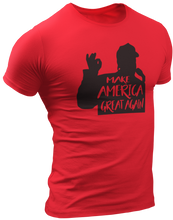 Load image into Gallery viewer, Make America Great Again Silhouette Tee - Crusader Outlet