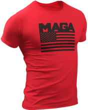 Load image into Gallery viewer, MAGA Flag Tee - Crusader Outlet