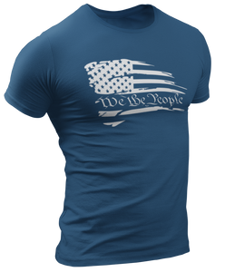 Battle Worn We The People Tee - Crusader Outlet