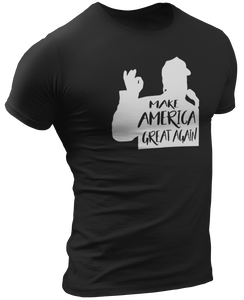 Make America Great Again Silhouette Tee - Crusader Outlet