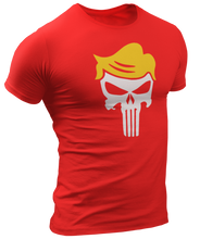 Load image into Gallery viewer, Trump Punisher Skull Tee - Crusader Outlet