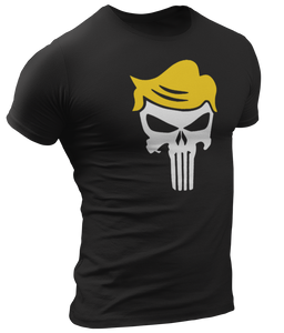 Trump Punisher Skull Tee - Crusader Outlet