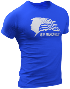 Keep America Great Trump USA Flag Tee - Crusader Outlet