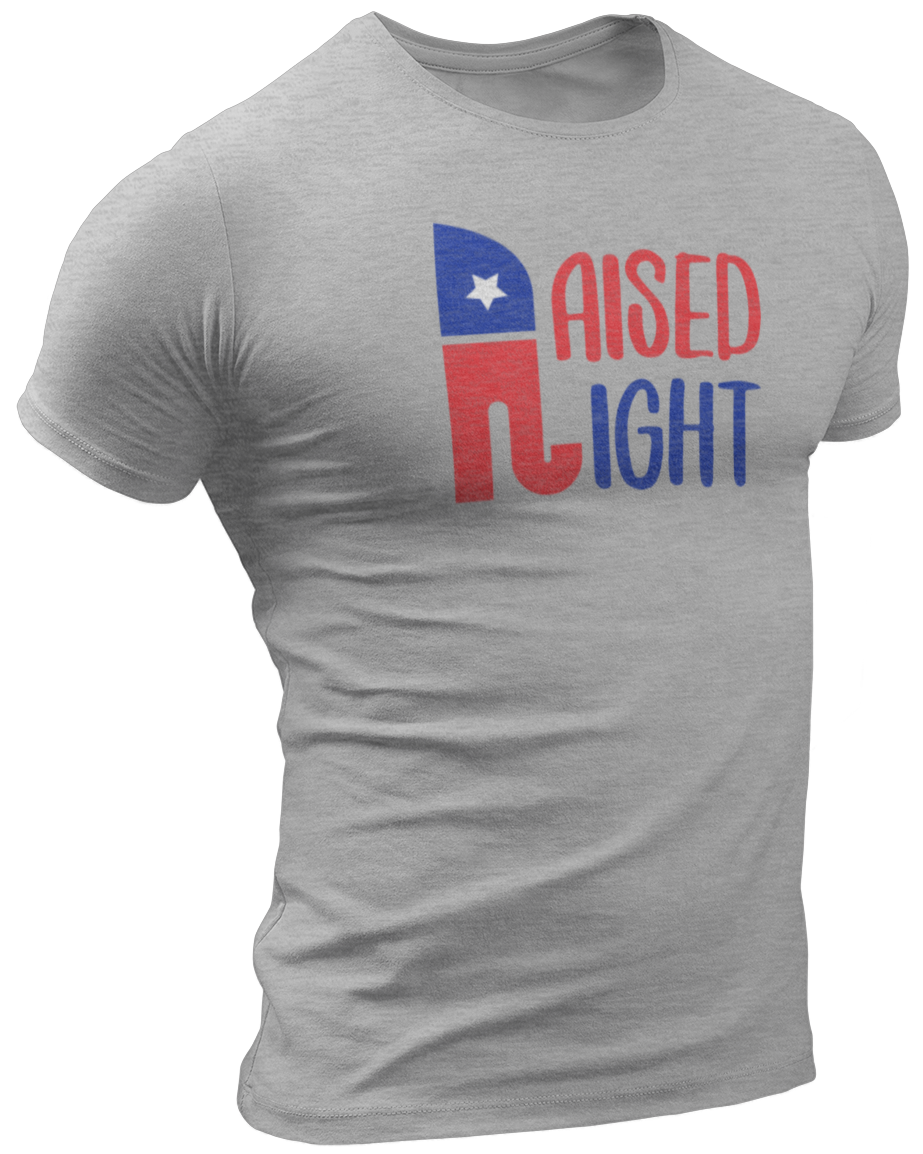 Raised Right Tee - Crusader Outlet