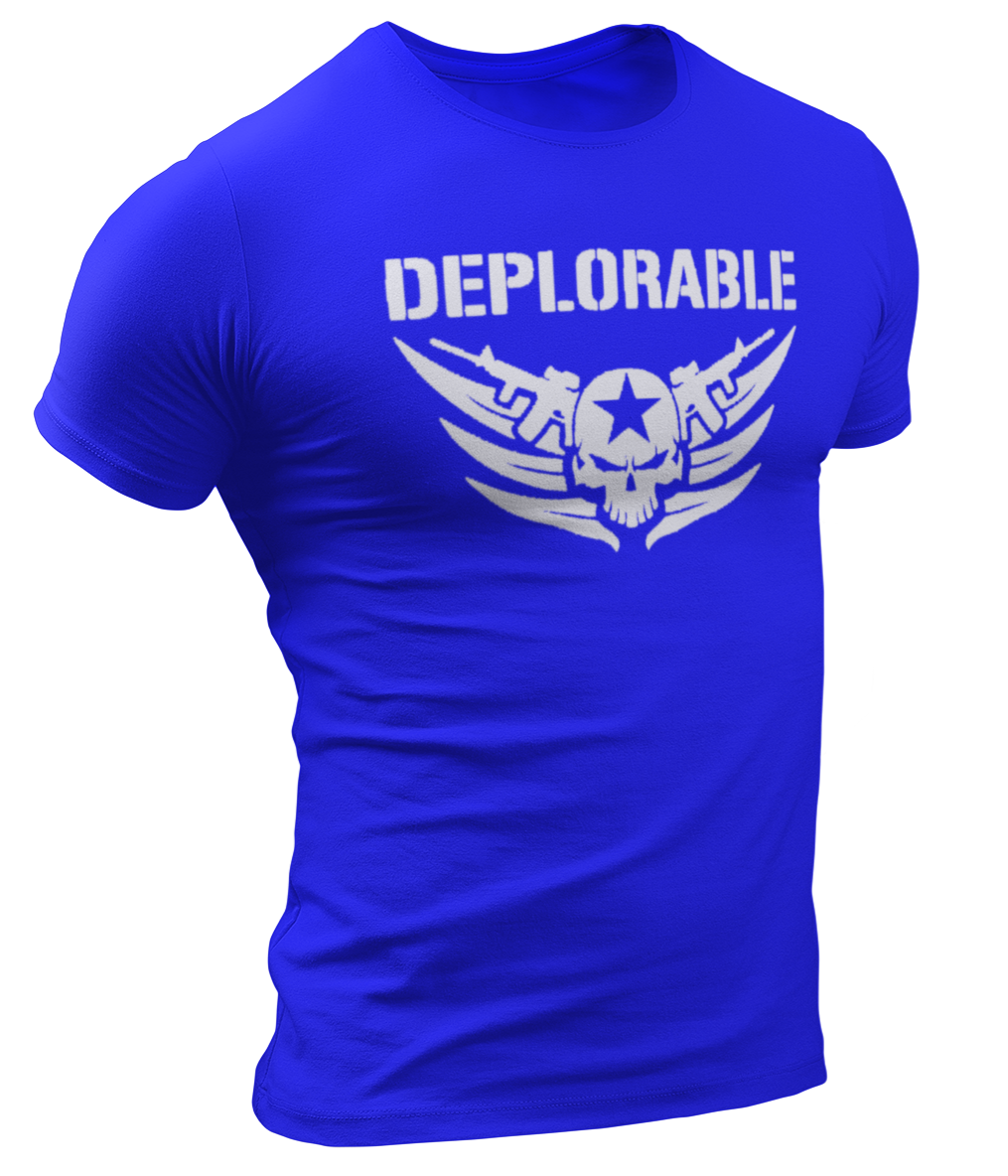 Deplorable Tee - Crusader Outlet