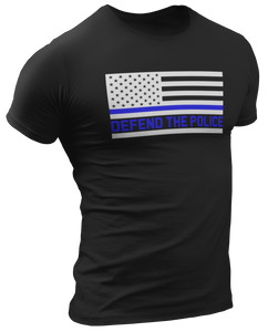 Defend The Police Tee - Crusader Outlet