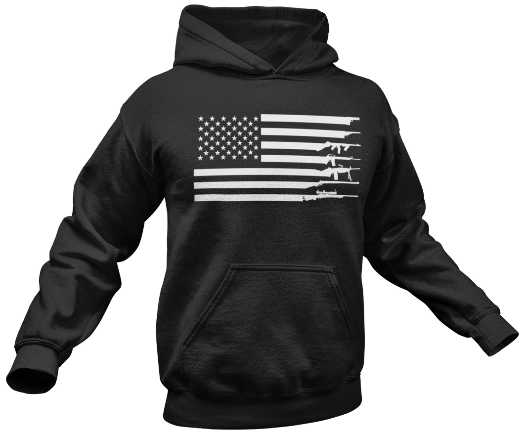 Stay Strapped USA Hoodie