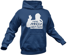 Load image into Gallery viewer, Make America Great Again Silhouette Hoodie - Crusader Outlet