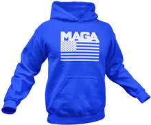 Load image into Gallery viewer, MAGA Flag Hoodie - Crusader Outlet