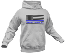 Load image into Gallery viewer, Defend The Police Hoodie - Crusader Outlet