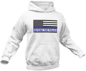 Defend The Police Hoodie - Crusader Outlet