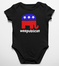 Load image into Gallery viewer, Weepublican Onesie - Crusader Outlet