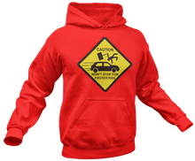 Load image into Gallery viewer, Caution Protesters Hoodie - Crusader Outlet
