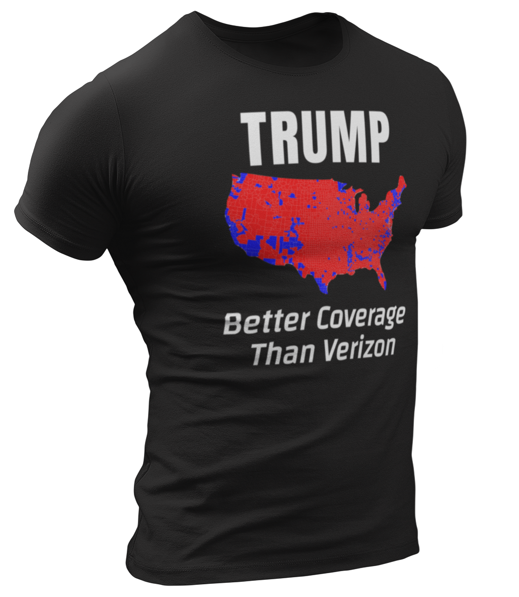 Better Coverage Than Verizon Tee - Crusader Outlet