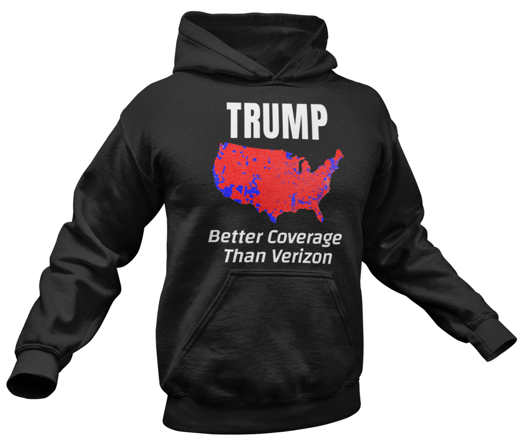 Better Coverage Than Verizon Hoodie - Crusader Outlet
