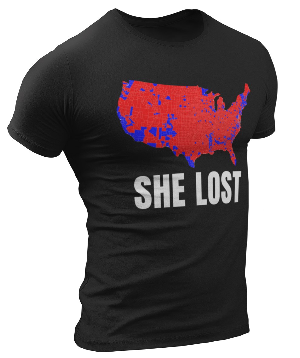 She Lost Tee - Crusader Outlet