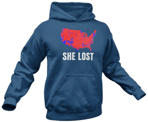 She Lost Hoodie - Crusader Outlet