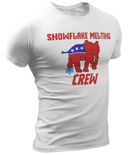 Load image into Gallery viewer, Snowflake Melting Crew Tee - Crusader Outlet