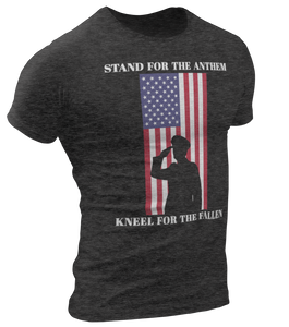Stand For The Anthem Tee - Crusader Outlet