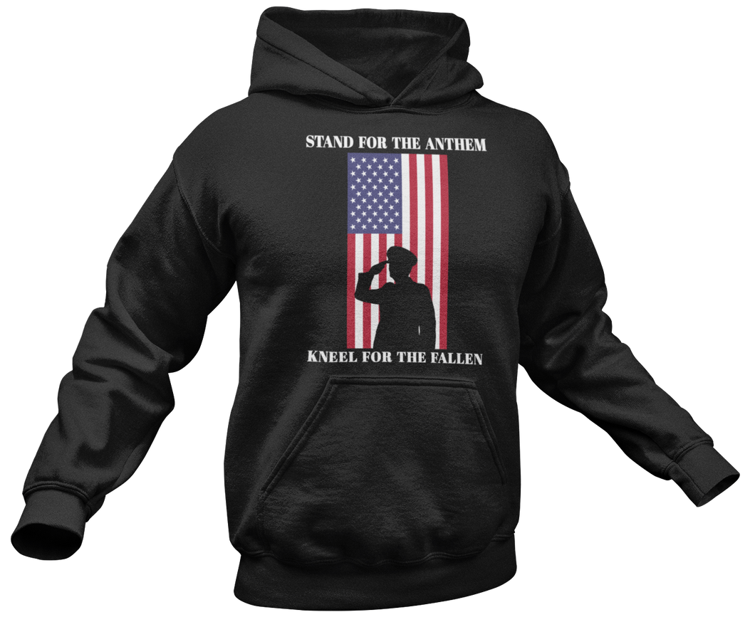 Stand For The Anthem Hoodie - Crusader Outlet