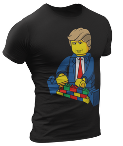 Trump Lego Wall Tee - Crusader Outlet