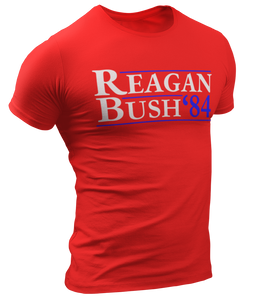 Reagan Bush '84 Tee - Crusader Outlet