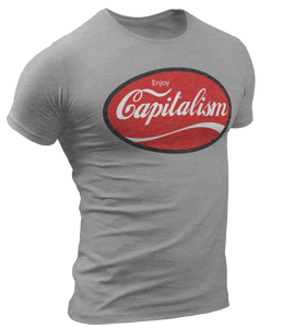 Enjoy Capitalism Tee - Crusader Outlet