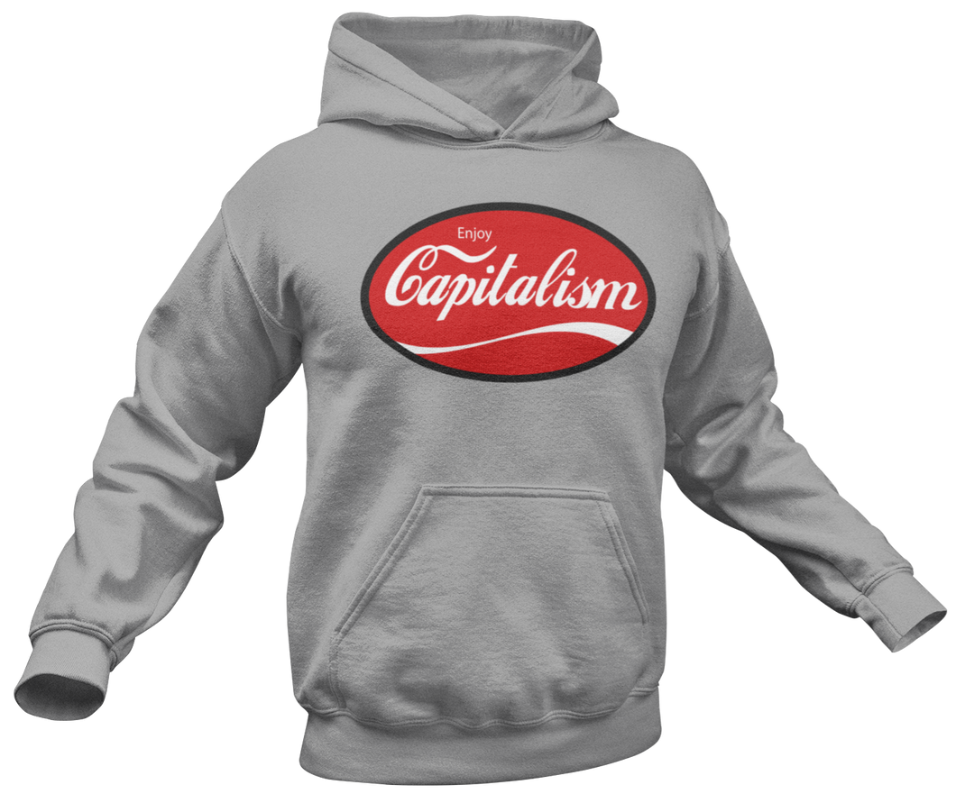 Enjoy Capitalism Hoodie - Crusader Outlet