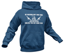 Load image into Gallery viewer, Got Guns Hun? Hoodie - Crusader Outlet