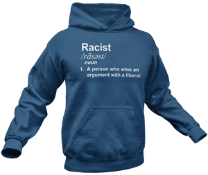 Racist Definition Hoodie - Crusader Outlet