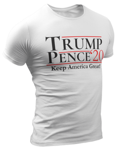 Trump Pence 2020 Tee - Crusader Outlet