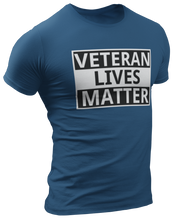 Load image into Gallery viewer, Veteran Lives Matter Tee - Crusader Outlet