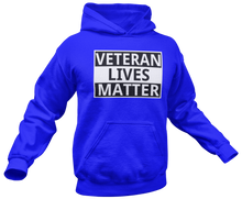 Load image into Gallery viewer, Veteran Lives Matter Hoodie - Crusader Outlet