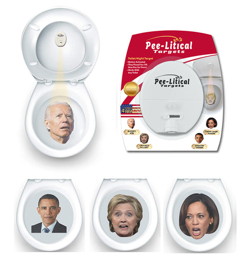 Pee-Litical Target (Joe Biden, Kamala Harris, Hillary Clinton, Barack Obama)