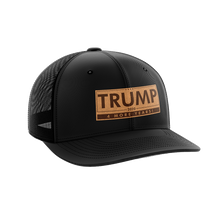 Load image into Gallery viewer, Trump - 4 More Years Leather Patch Hat - Crusader Outlet