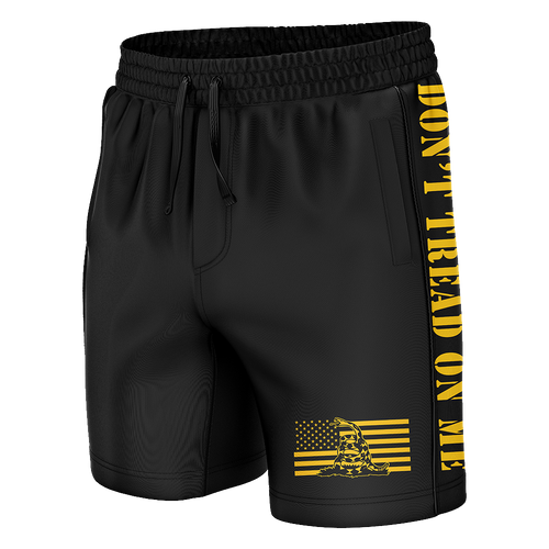 Don't Tread On Me Swim Trunks - Crusader Outlet