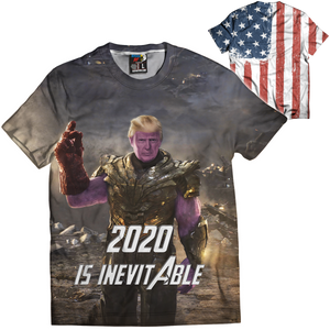 Thanos 2020 Is Inevitable Tee - Crusader Outlet