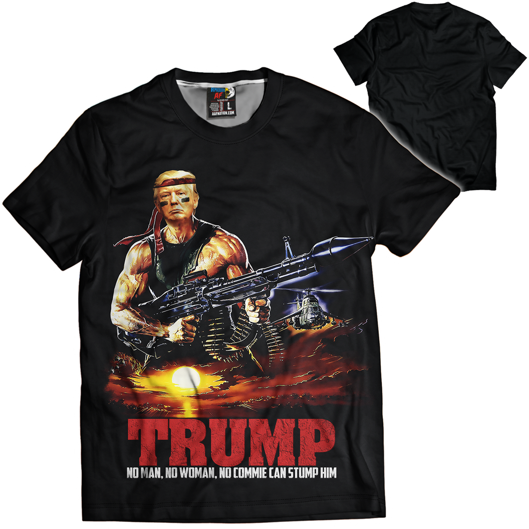 Trump Rambo Tee - Crusader Outlet