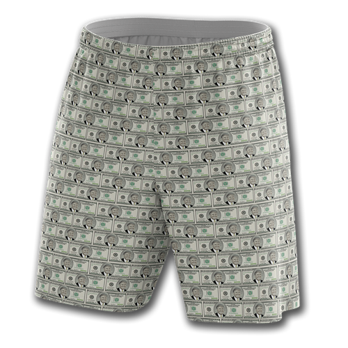 Trump Hundreds Shorts - Crusader Outlet