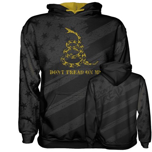 Don't Tread on Me Hoodie - Crusader Outlet