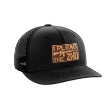 Load image into Gallery viewer, I Plead The 2nd Leather Patch Hat - Crusader Outlet