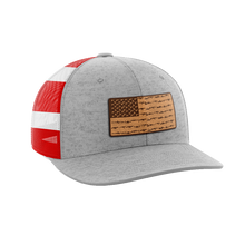 Load image into Gallery viewer, Amerigun Flag Leather Patch Hat - Crusader Outlet