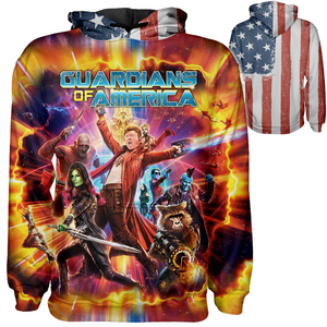 Guardians of America Hoodie - Crusader Outlet