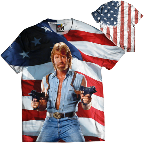 Chuck Norris Tee - Crusader Outlet