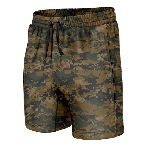 Woodland Digital Camo Swim Trunks - Crusader Outlet