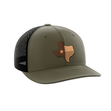 Load image into Gallery viewer, Texas Leather Patch Hat - Crusader Outlet