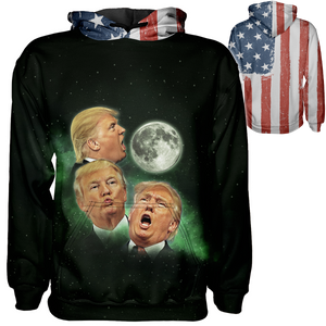 3 Trump Moons Hoodie - Crusader Outlet