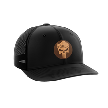 Load image into Gallery viewer, Trump Punisher Leather Patch Hat - Crusader Outlet