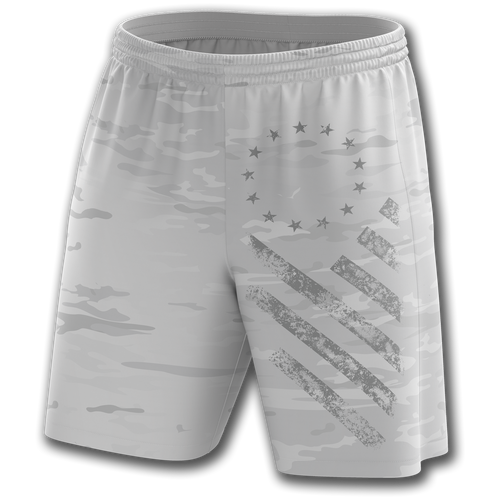 Arctic Camo Shorts - Crusader Outlet